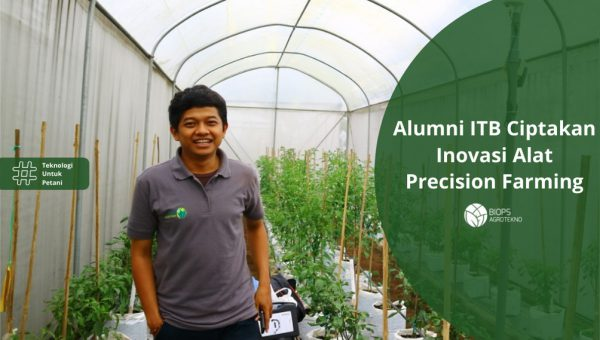 Alumni ITB Ciptakan Inovasi Alat Precision Farming